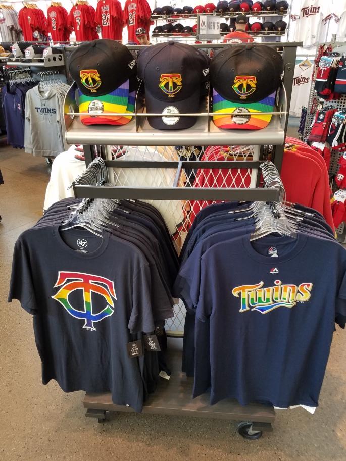 Twins Pride Gear at Target Field