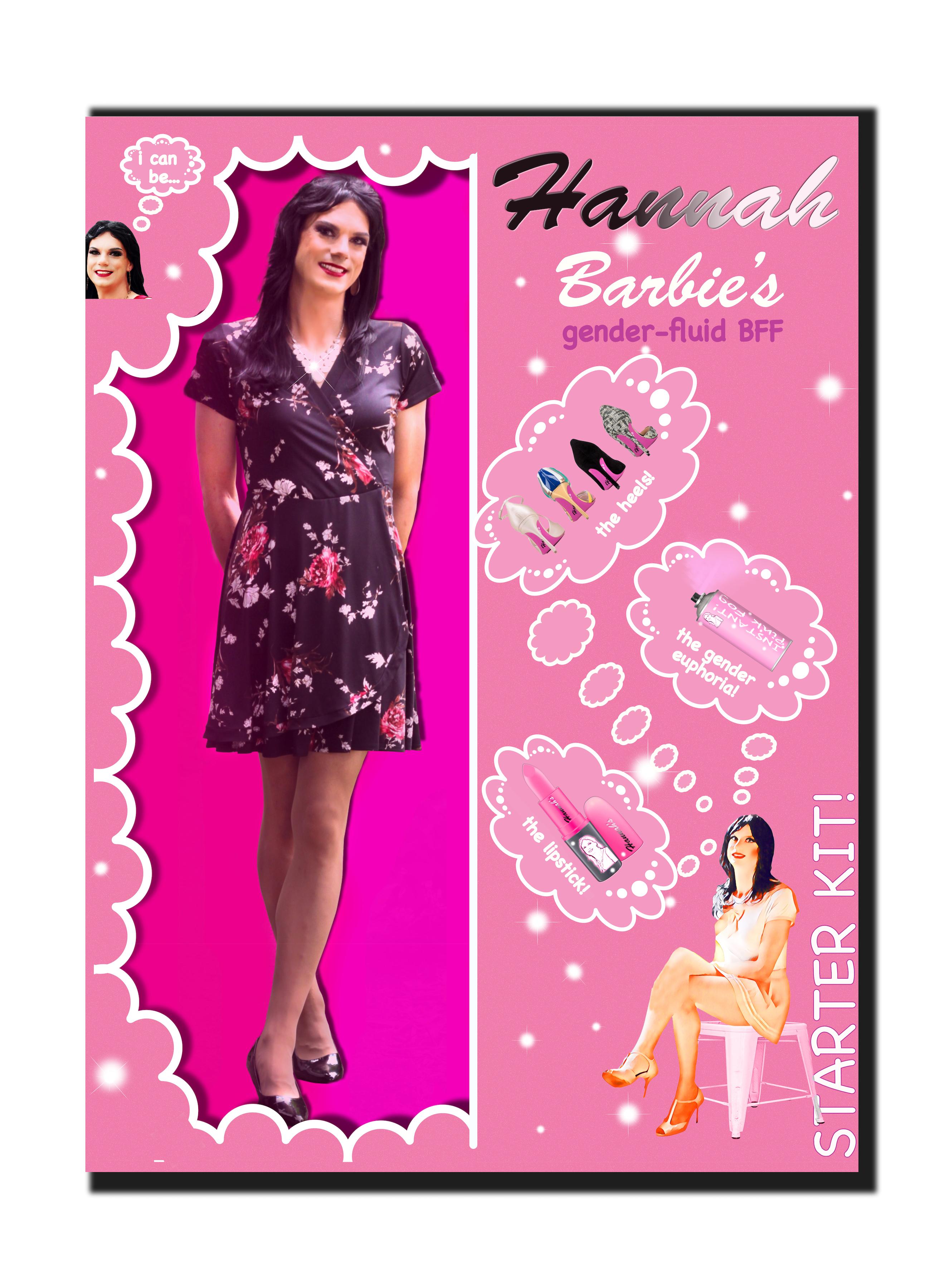 Main Barbie Hannah box